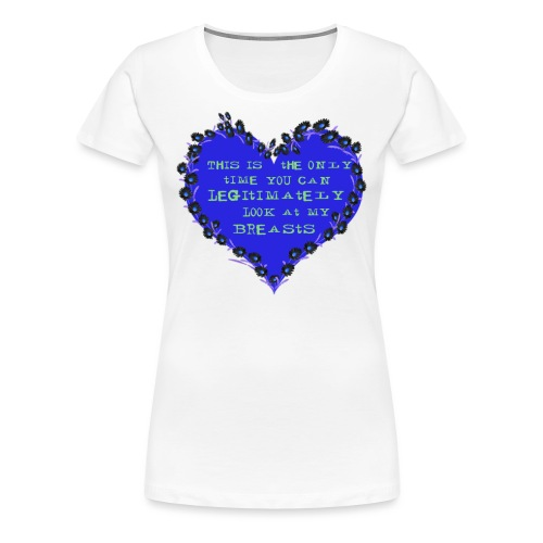 Cheeky heart - Women's Premium T-Shirt