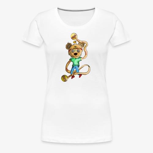 OSO HIPPIE - Camiseta premium mujer