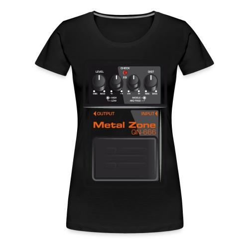 Metalzone - Frauen Premium T-Shirt
