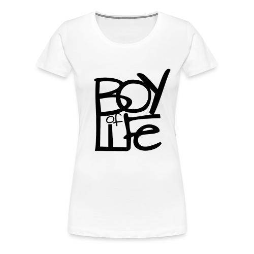 Boy of Life Logo black - Frauen Premium T-Shirt