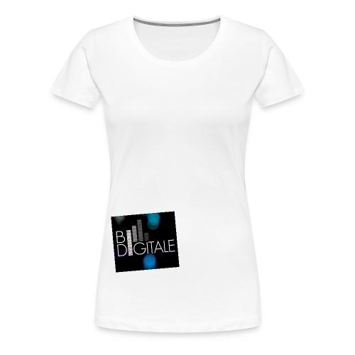bidigitalelogo - Frauen Premium T-Shirt