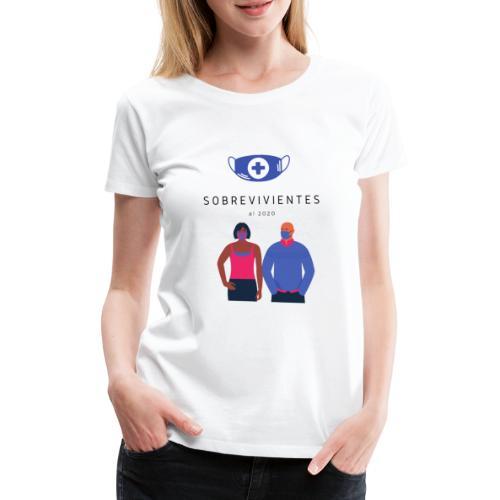 Sobrevivientes 2020 - Camiseta premium mujer