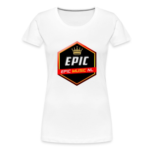 Epic Music NL - Vrouwen Premium T-shirt