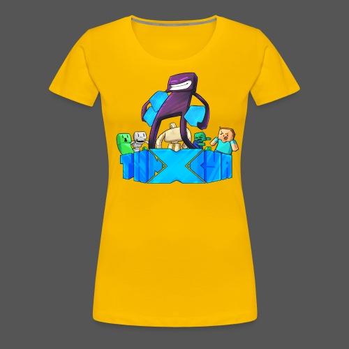ThnxCya tshirt like an enderman by Jonas Nacef png - Women's Premium T-Shirt
