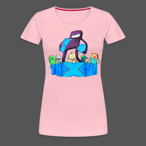 ThnxCya tshirt like an enderman by Jonas Nacef png - Women's Premium T-Shirt