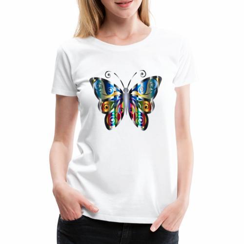 butterfly - Koszulka damska Premium