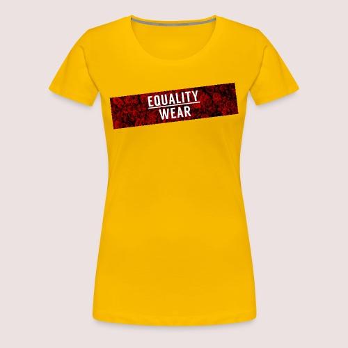 Equality Wear Long Rose Print Edition - Women's Premium T-Shirt