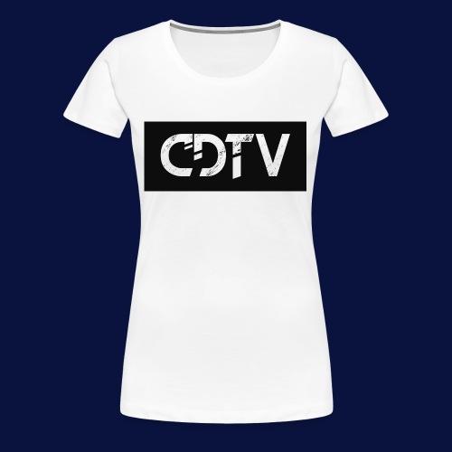 CDTV Box Logo - Women's Premium T-Shirt