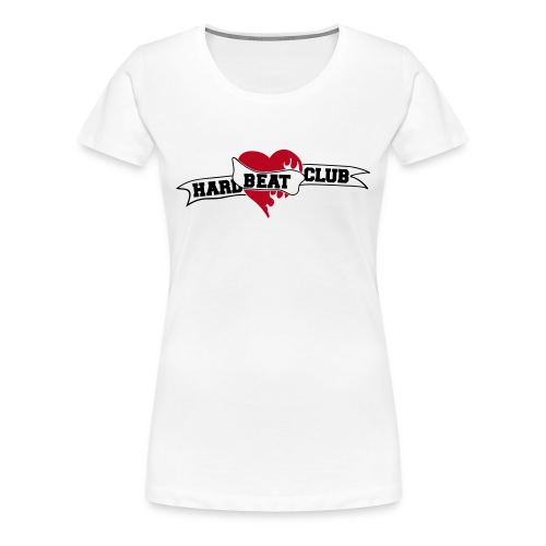 Hardbeatclub 2 farbig - Frauen Premium T-Shirt