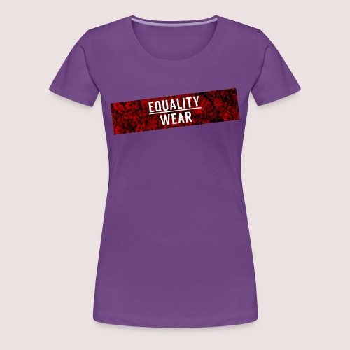 Equality Wear Long Rose Print Edition - Women's Premium T-Shirt