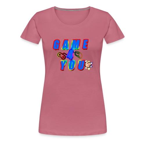 Game4You - Women's Premium T-Shirt