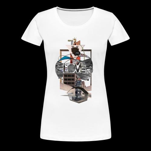LOVE - Frauen Premium T-Shirt