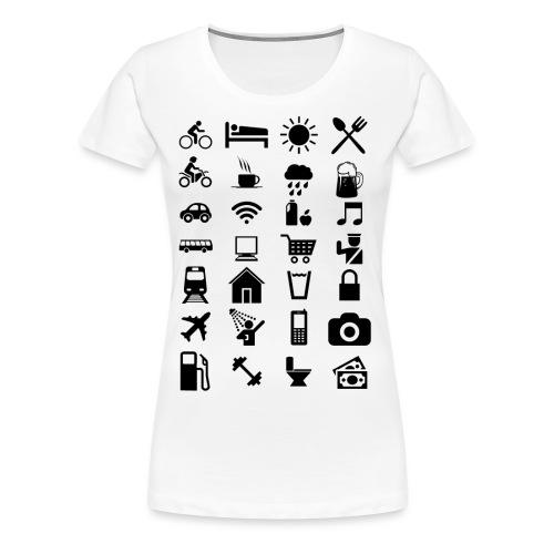 T-shirt de voyage à l'étranger - T-shirt Premium Femme