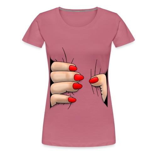 Body Squeeze - Dame premium T-shirt