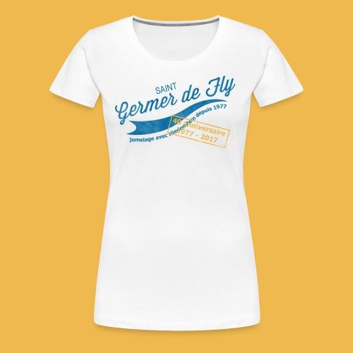 40 Jahre Städtepartnerschaft - Frauen Premium T-Shirt