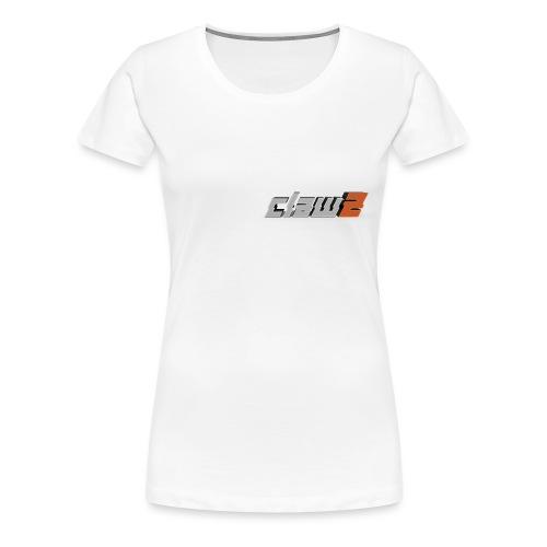 ClawZ Logo - Premium-T-shirt dam