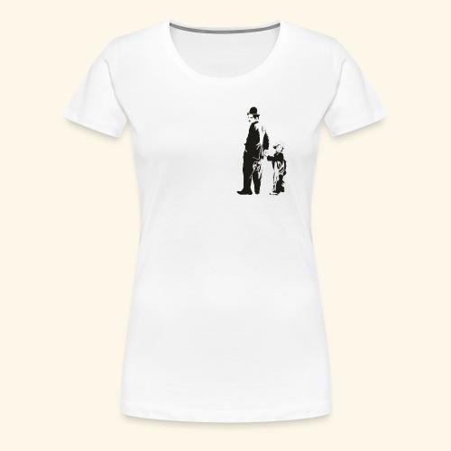 Charles Chaplin - Camiseta premium mujer
