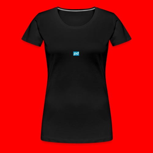 pd Blue - Dame premium T-shirt