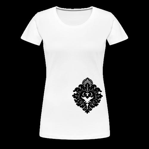 ChiBriNo Ornament black - Frauen Premium T-Shirt