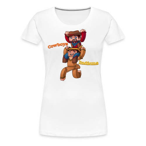 Cowboys with Text png - Women's Premium T-Shirt