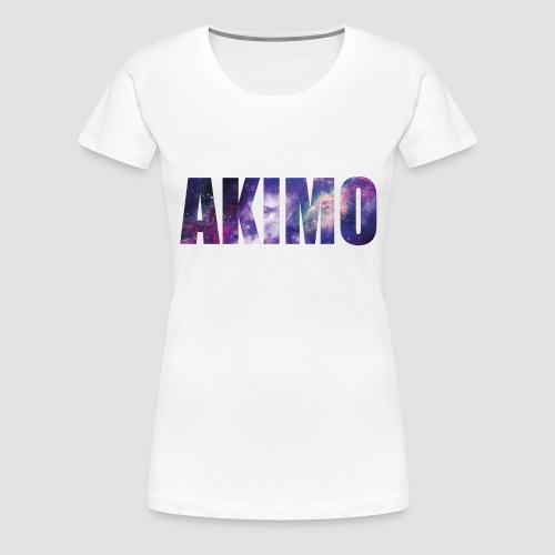 AKIMO Basic Galaxy - Frauen Premium T-Shirt