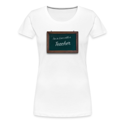teacher valentine - Women's Premium T-Shirt