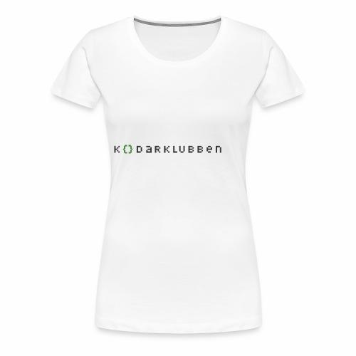 Kodarklubben ljusare kläder - Women's Premium T-Shirt