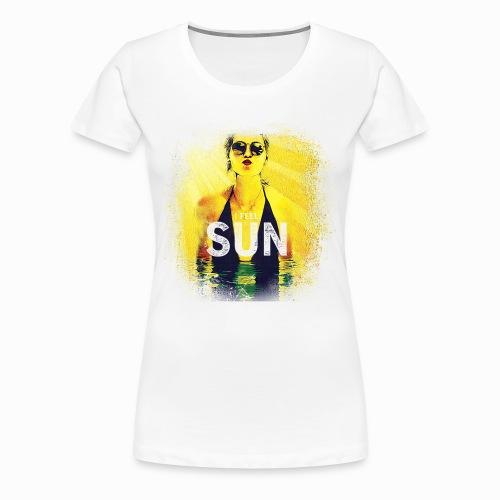Gyrlie - I Feel Sun (Industrial) - Frauen Premium T-Shirt