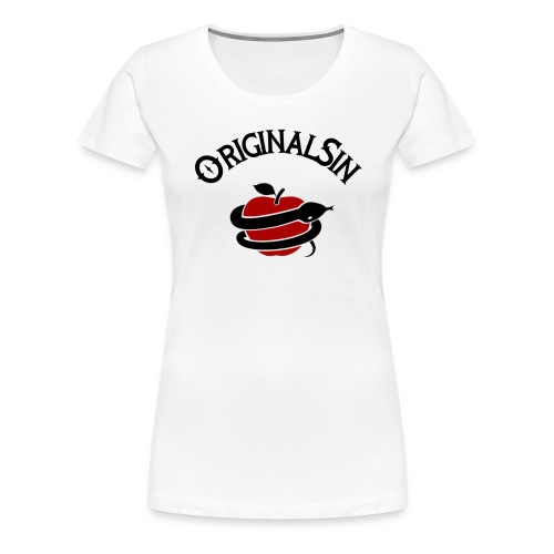 negro rojo - Camiseta premium mujer