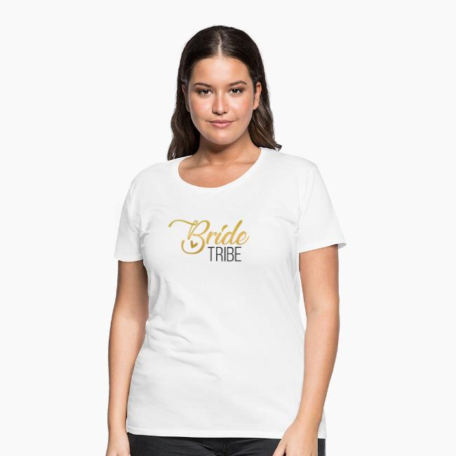 Bride Tribe - lettering for team bride