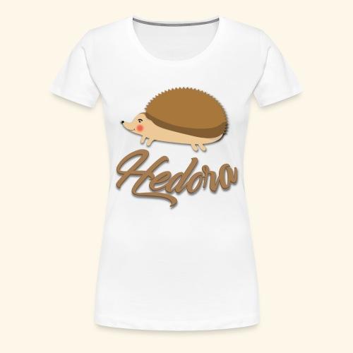 Logo Hedora - T-shirt Premium Femme