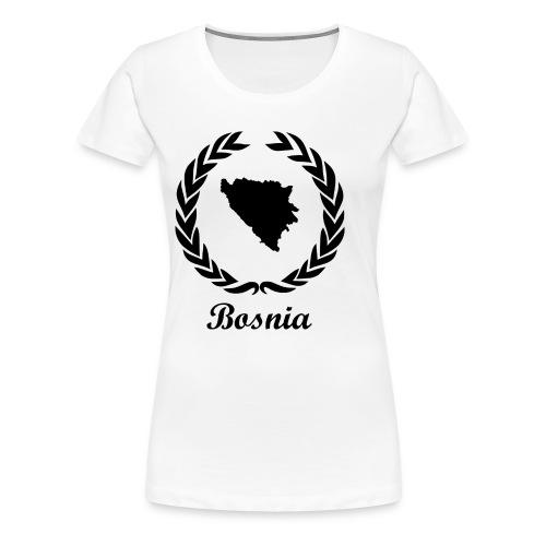 Connect ExYu Shirt Bosnia - Women's Premium T-Shirt