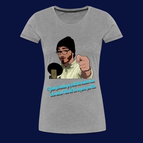 Your Favourite Beanie Man - Women's Premium T-Shirt