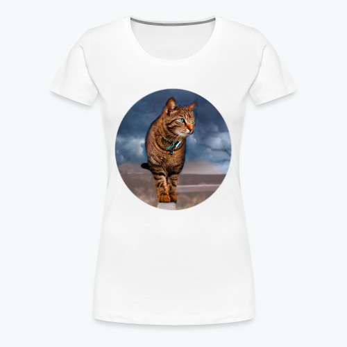 Chat sauvage - T-shirt Premium Femme