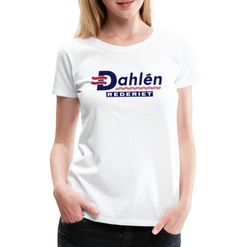 Dahlén Rederiet - Premium-T-shirt dam