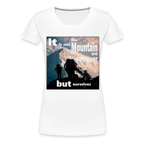 #NumberOne - Frauen Premium T-Shirt