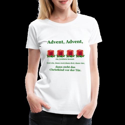 Advent-Countdown 2 - Frauen Premium T-Shirt