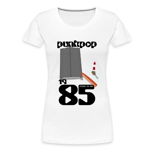 Dark Close PunkPop 1985 - Maglietta Premium da donna