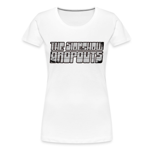 t-shirt-white - Premium T-skjorte for kvinner