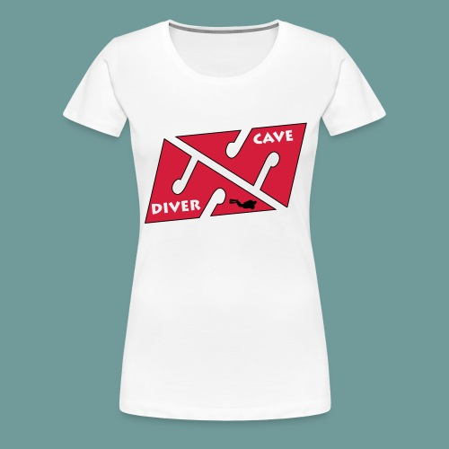 cave_diver_01 - T-shirt Premium Femme