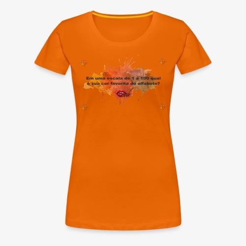 Versinho cmyk - Women's Premium T-Shirt