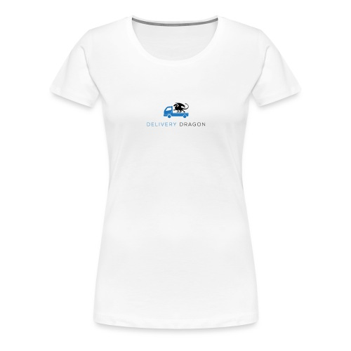 Delivery Dragon Logo - Women's Premium T-Shirt