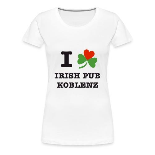 i love irish pub ko - Frauen Premium T-Shirt