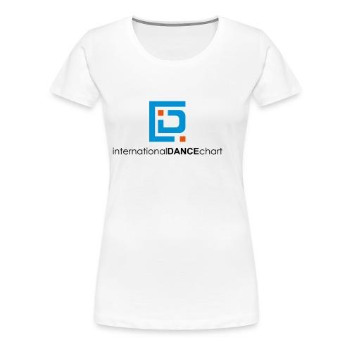 International Dance Chart - Camiseta premium mujer