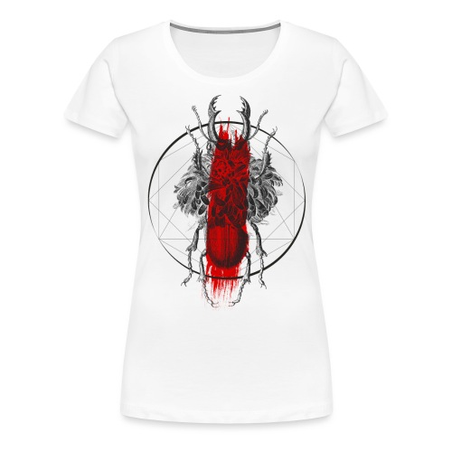Skarabäus - Frauen Premium T-Shirt