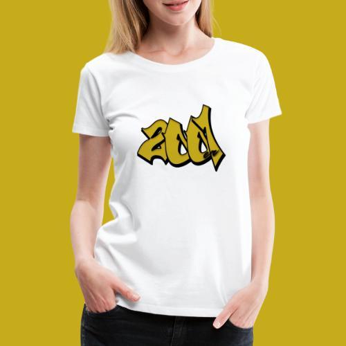 2001er Logo - Frauen Premium T-Shirt