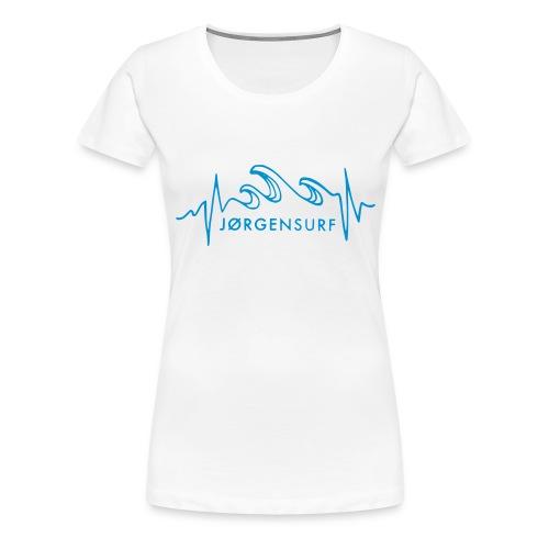 Logo Jørgensurf - Frauen Premium T-Shirt