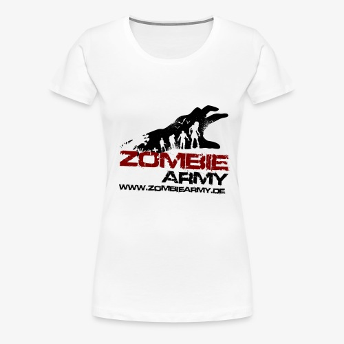 ZA logo - Frauen Premium T-Shirt