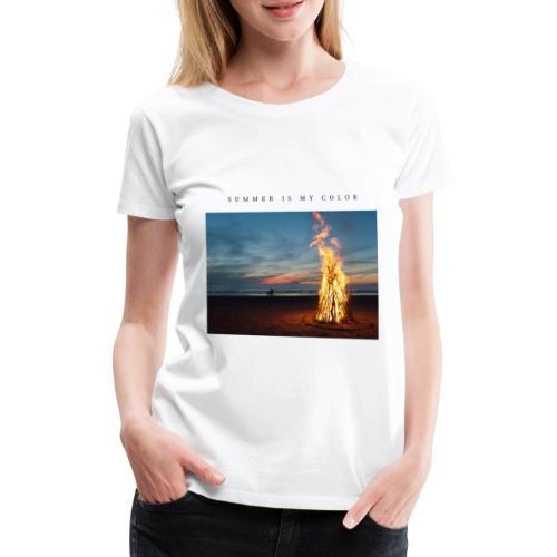 summer is my color 3 - Maglietta Premium da donna