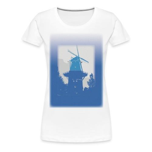 Mills blue - Women's Premium T-Shirt